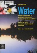 The Fair Share Water Strategy for Sustainable Development in Africa