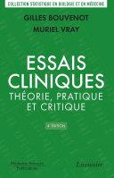 Pdf Essais cliniques : théorie, pratique et critique (4e ed.) Telecharger