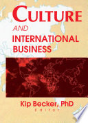 Culture And International Business Book PDF