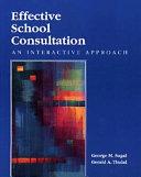 Effective School Consultation