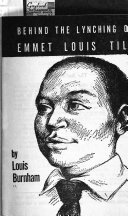 Behind the Lynching of Emmet Louis Till
