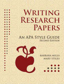 Writing Research Papers Book