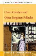 Pdf Clever Gretchen and Other Forgotten Folktales