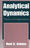 Analytical Dynamics Pdf/ePub eBook