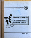A Comparative Analysis of Agricultural Extension Systems of Eight East African Countries