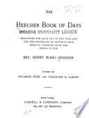 The Beecher Book Of Days