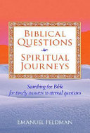 Biblical Questions  Spiritual Journeys Book
