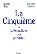 La Cinquieme Ou La Republique
