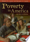 Poverty in America  An Encyclopedia Book PDF