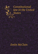 Pdf Constitutional law in the United States
