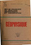Revue roumaine de g  ologie  g  ophysique et g  ographie