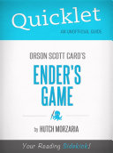 Quicklet on Ender's Game by Orson Scott Card (CliffNotes-like Book Summary and Review)