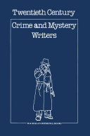 Pdf Twentieth Century Crime & Mystery Writers