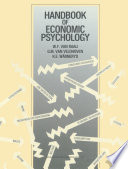Handbook of Economic Psychology Book