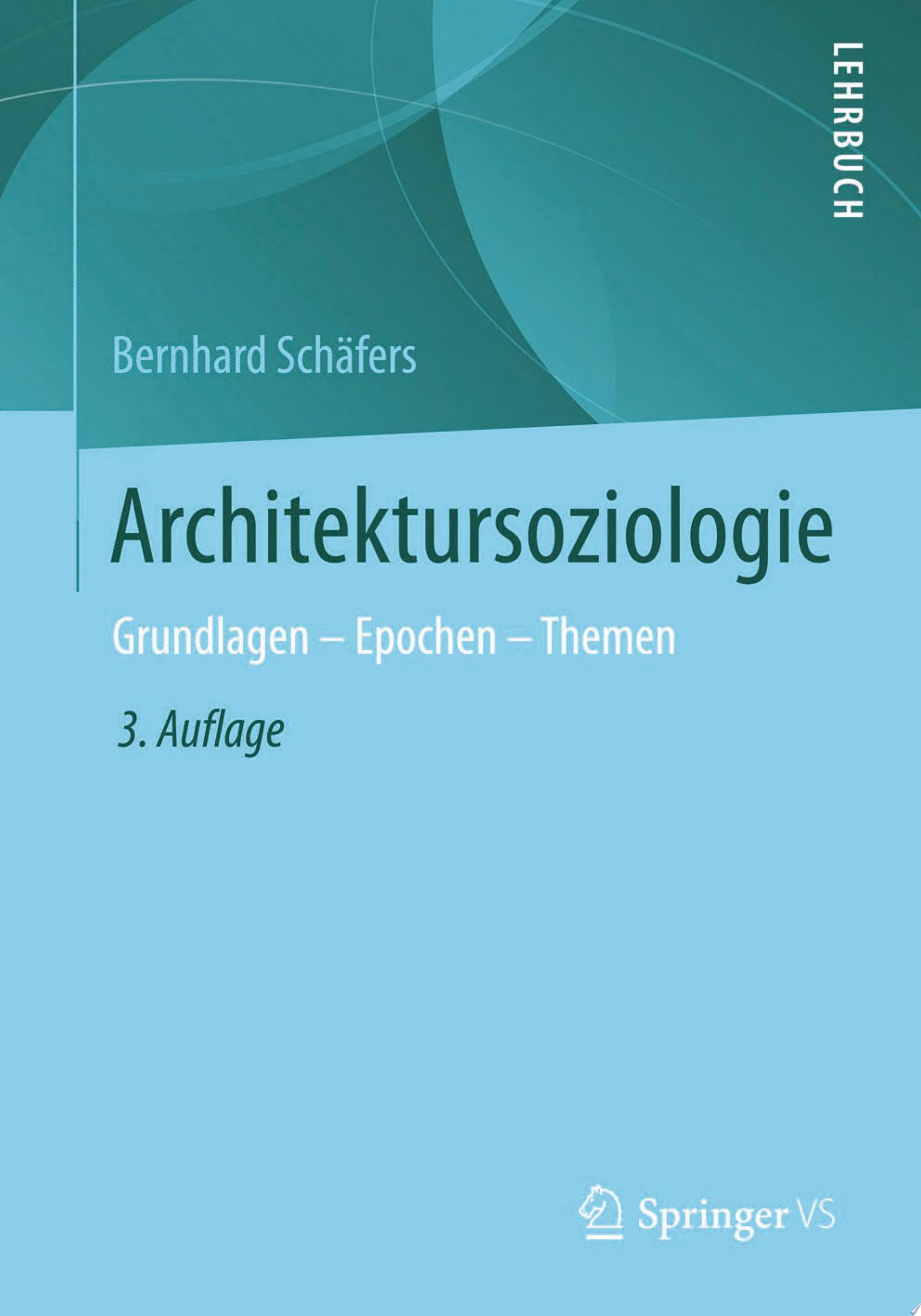 Architektursoziologie
