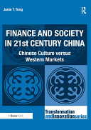 Finance and Society in 21st Century China