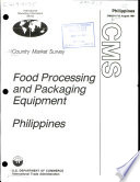 Food Processing and Packaging Equipment Philippines
