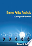 Energy Policy Analysis  A Conceptual Framework