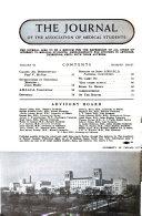The Journal of the Association of Medical Students  V   1  6  No  3  April 1937 Dec  1941