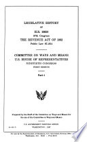 Legislative History of H.R. 10650, 87th Congress