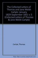 The Collected Letters of Thomas and Jane Welsh Carlyle Book