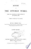 History Of Ottoman Turks Book
