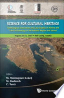 Science for Cultural Heritage Book