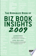 The Bookbuzz Book Of Biz Book Insights 2009 Book