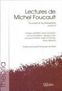 Lectures de Michel Foucault: Foucault et la philosophie