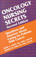 Cover of Oncology Nursing Secrets