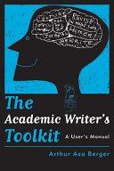 The Academic Writer's Toolkit