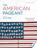 The American Pageant Book