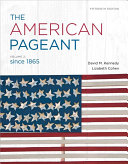 The American Pageant  Volume 2 Book PDF