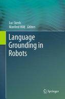 Language Grounding in Robots Pdf