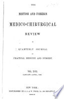 British and Foreign Medico chirurgical Review Book PDF