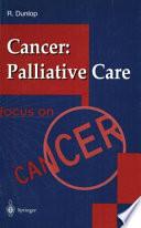 Cancer: Palliative Care
