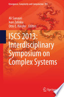 ISCS 2013  Interdisciplinary Symposium on Complex Systems Book