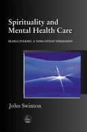 Spirituality and Mental Health Care Pdf/ePub eBook