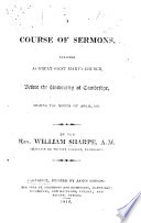 A Course of Sermons      before the University of Cambridge during     April  1816   Appendix    Book