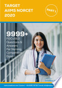 Target Aiims Norcet 2020 Part 1 With 100 Paper Sets On Google