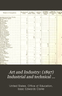 Art and Industry   1897  Industrial and technical training in voluntary associations and endowed institutions