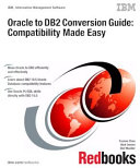 Pdf Oracle to DB2 Conversion Guide: Compatibility Made Easy Telecharger