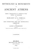 Mythology and Monuments of Ancient Athens