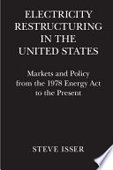 Electricity Restructuring In The United States Book PDF
