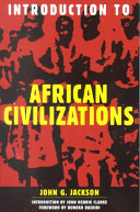 Introduction to African Civilizations Book