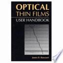 Optical Thin Films Book
