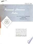 Personnel Literature