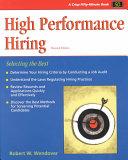High Performance Hiring