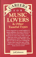Careers for Music Lovers   Other Tuneful Types