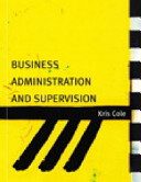 Business Administration and Supervision